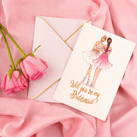 Me & You Forever Bridesmaid Proposal Card - Styleper