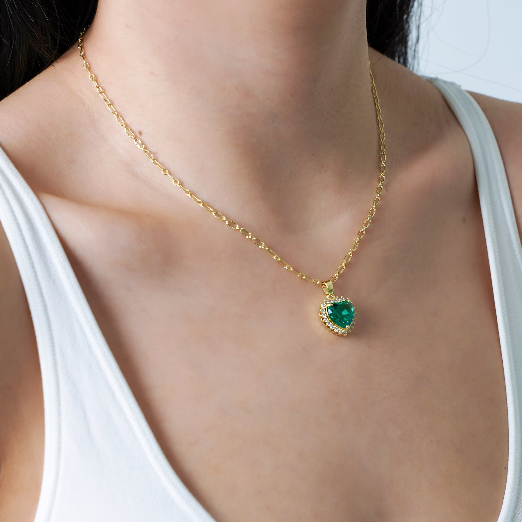 Buy 1 Free 1: Emerald Self-Love Necklace