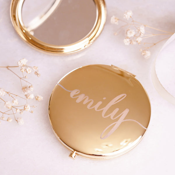 Personalized Compact Mirror - Styleper