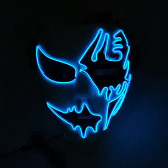 LED Rockstar Party Mask Adult Size