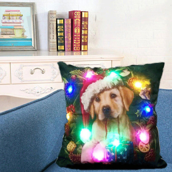 Christmas Pillow Decoration LED 8 Different Styles