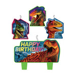 Jurassic World Candle Set Happy Birthday