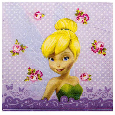 Disney Fairies Luncheon Napkin - 16pk