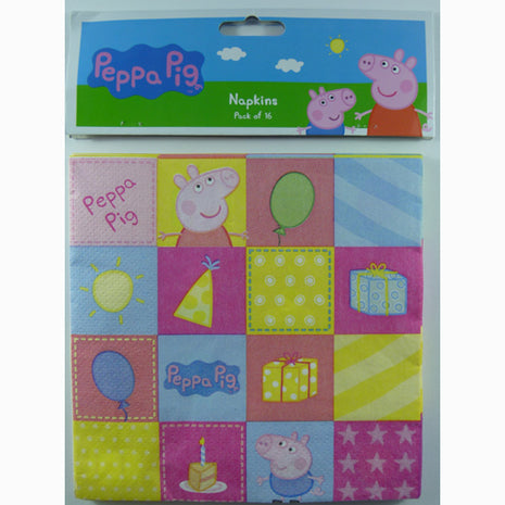Peppa Pig  Luncheon Napkins - 16pk