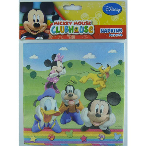 Mickey Mouse Clubhouse Lunch Napkins - 8pk