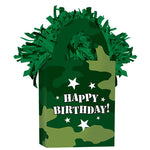 Balloon Tote Weight Camouflage Happy Birthday!