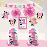 Minnie 1st Birthday Decorating Kit Fun To Be One