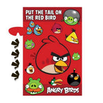 Game Angry Birds 'Put the tail on the red bird'
