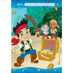 Jake & The Neverlands Pirates Loot Bags - 8pk