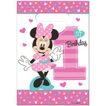 Minnie 1st Birthday Loot Bags Fun To Be One - 8pk
