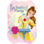 Beauty & The Beast Invitations - Be Our Guest - 8pk
