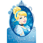 Cinderella Invitations - 8pk
