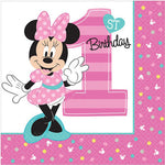 Minnie 1st Birthday Lunch Napkins Fun To Be One