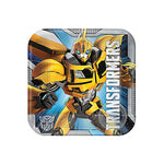 Transformers Luncheon Plates Square - 8pk