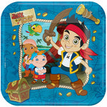 Jake & The Neverlands Pirates Dinner Plates - 8pk