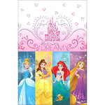 Princess Dream Big Tablecover Plastic