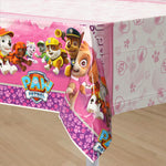 Paw Patrol Girls Tablecover Plastic
