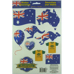 Window Decorations Vinyl Australia Day