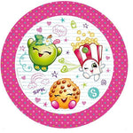 Shopkins Luncheon Plates Paper 23cm
