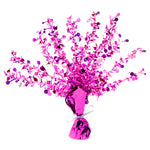 Perfectly Pink Happy Birthday Foil Spray Centrepiece