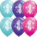 28cm Disney Frozen Latex Balloon - 25pk