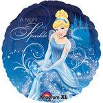 45cm Cinderella  A Night To Sparkle Foil Balloon