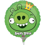 22cm Angry Birds Green Pig (Inflated)
