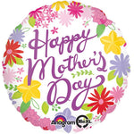 10cm Cheerful Mother's Day (Inflated) Foil Balloon
