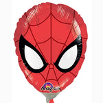 Mini Shape Spider-Man Ultimate Mask/Head (Inflated) Foil Balloon