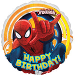 45cm Spider-Man Ultimate Happy Birthday! Foil Balloon