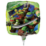 22cm TMNT (Inflated) Foil Balloon