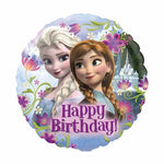 45cm Frozen Happy Birthday! Foil Balloon