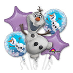 Olaf Bouquet 1 x Super Shape & 4 x 45cm - 5pk