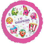 45cm Shopkins Design Foil Balloon