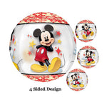 Shape Orbz Mickey Mouse 4 Sided Design 38cm x 40cm