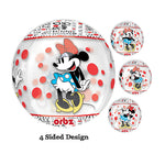 Shape Orbz Minnie Mouse 4 Sided Design 38cm x 40cm