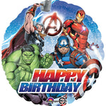 45cm Avengers Happy Birthday Foil Balloon