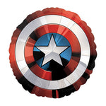 Shape Avengers Shield Captain America Foil Balloon