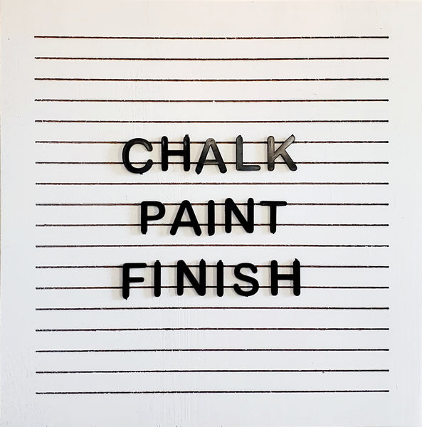 Chalk Paint Finish - Square (white)