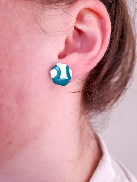 Vinyard Studs - Polymer Clay Earrings