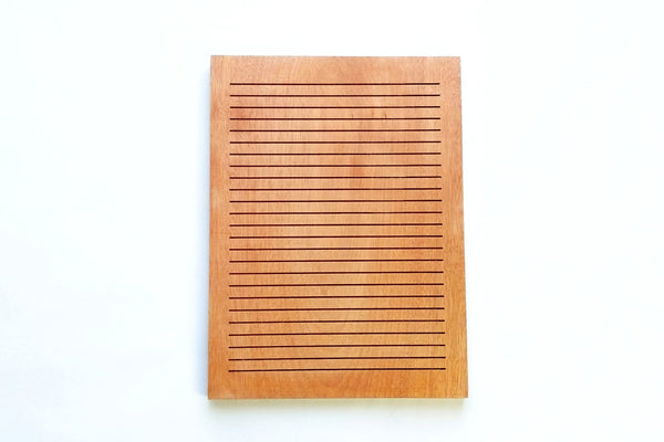Red Walnut - Rectangle Walnut Letter Board