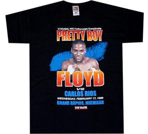 Mayweather VS Rios Fight Shirt - A.M. VINTAGE