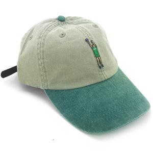 """Money Ball"" Hat (green/stone) - A.M. VINTAGE"