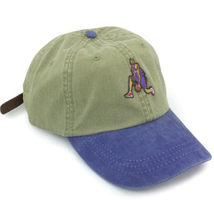 """Air Canada"" Hat (khaki/purple) - A.M. VINTAGE"