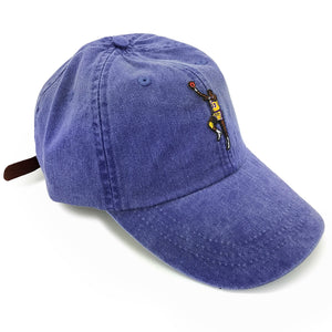 """Sky Hook"" Hat (dyed purple)"