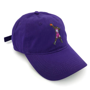 """Special Delivery"" Hat (purple) - A.M. VINTAGE"