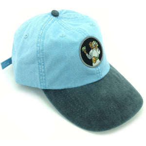 """Money Mike"" Hat (baby blue/navy) - A.M. VINTAGE"