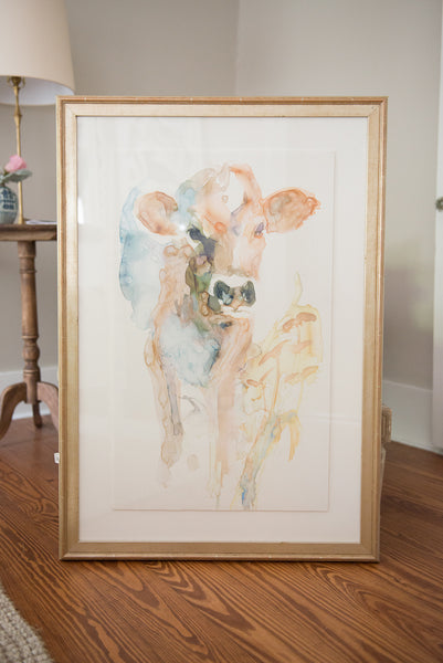 """Bella"" Framed & Matted Art Print"