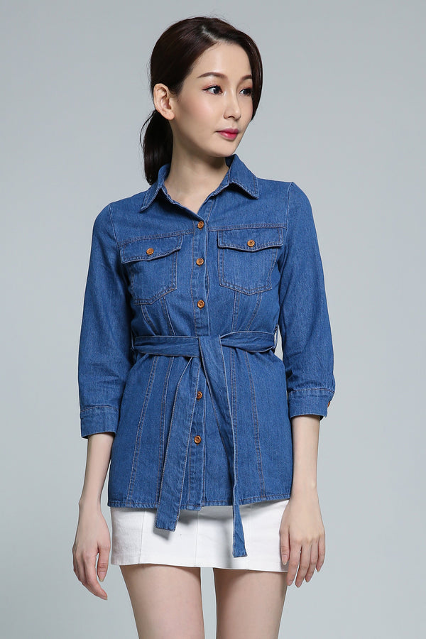 Denim Top 1824