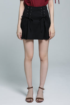 Crossover Skirt Pant 1857 - ample-couture